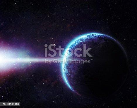 istock Waking up a sleepy planet 501951283