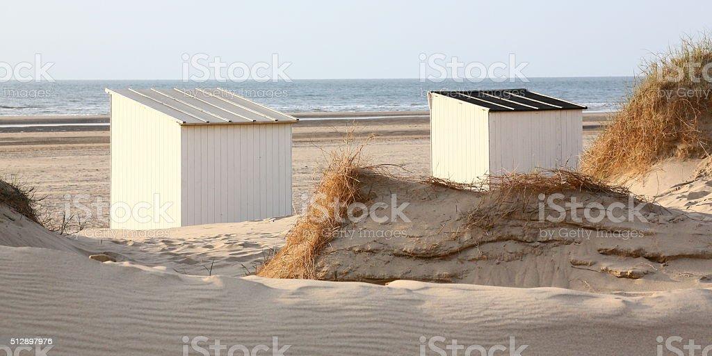 Walcheren beach, Netherlands stock photo