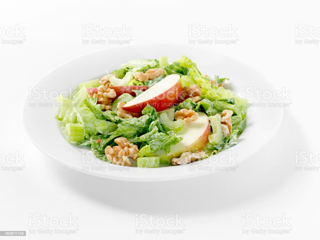 Waldorf Salad stock photo