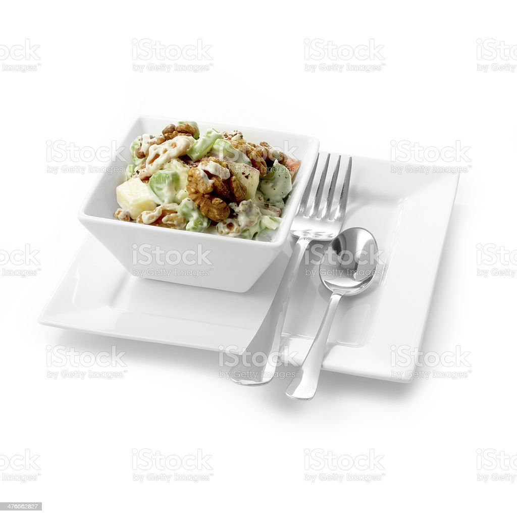 Waldorf Salad royalty-free stock photo