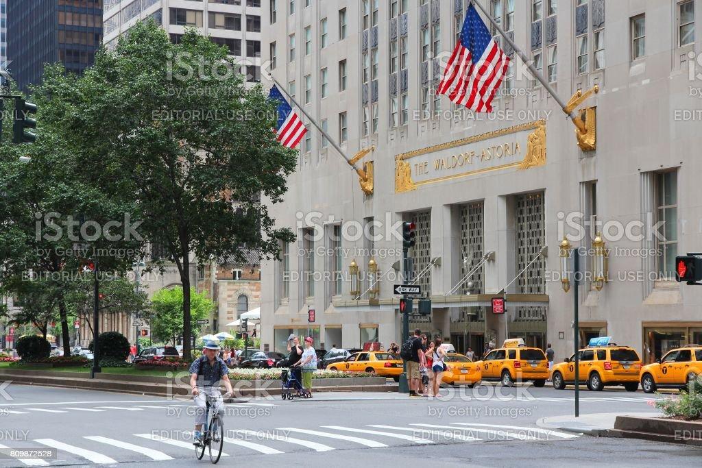 Waldorf-Astoria stock photo
