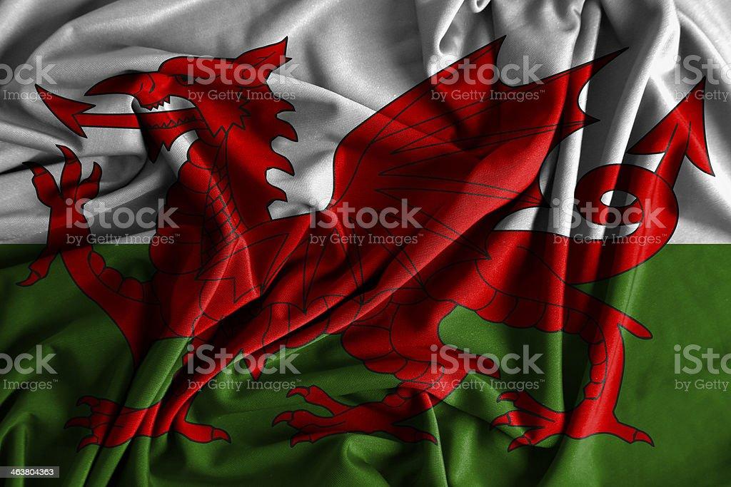Wales Flag royalty-free stock photo