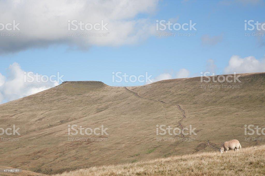 Wales Mountain landscape royalty-free stock photo
