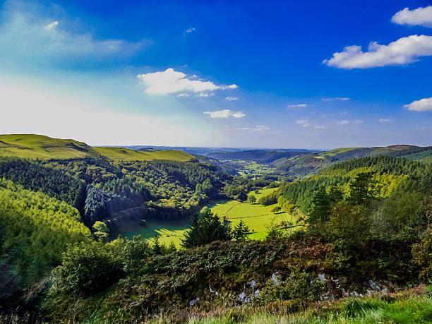 wales cambrian mountains mid-wales uk south wales stock pictures, royalty-free photos & images