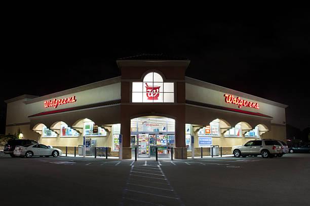 Walgreens Retail Store Exterior stock photo