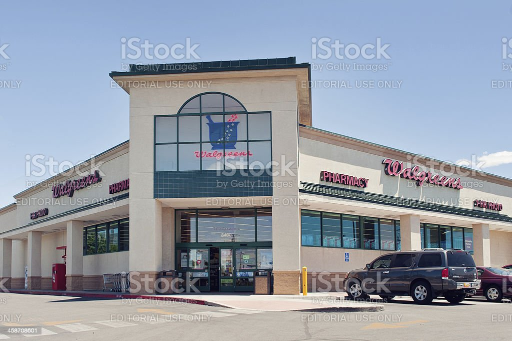 Walgreens Store and Pharmacy stock photo