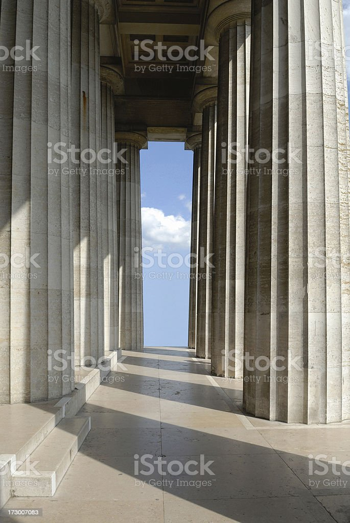 Walhalla Regensburg royalty-free stock photo