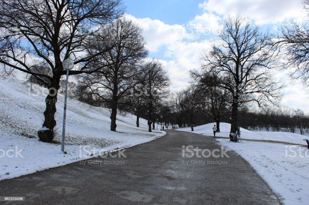 Caminhada no parque - Foto de stock de Alemanha royalty-free
