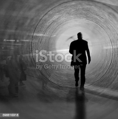 istock Walk into the light 598816918