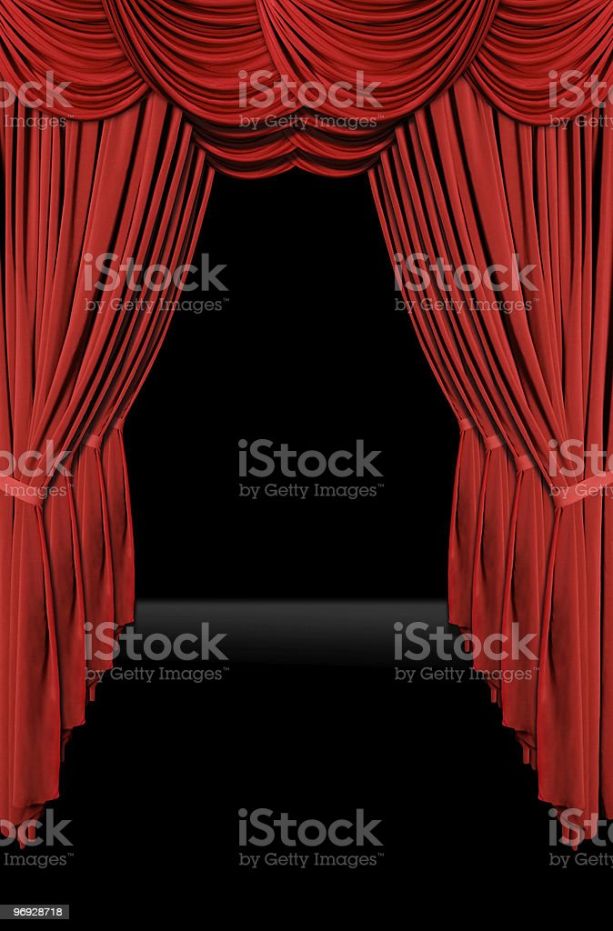 Walk of Fame Drapes royalty-free stock photo