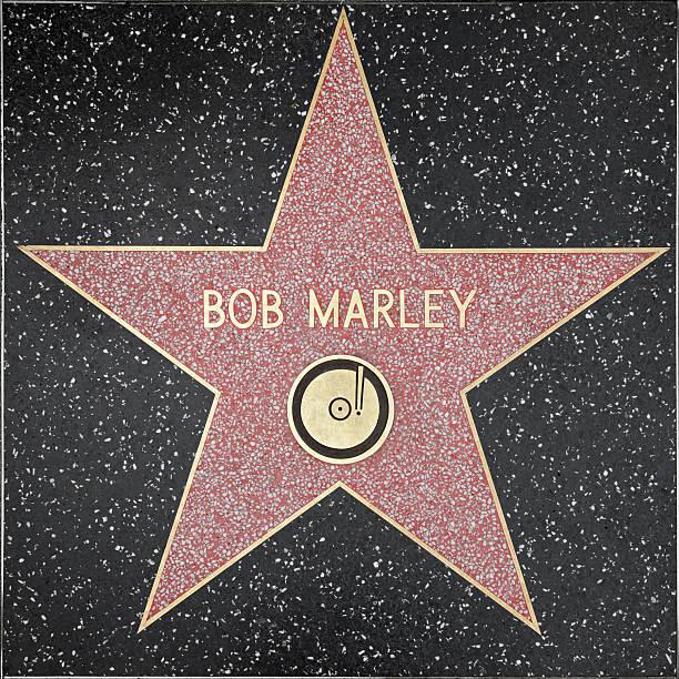Hollywood Walk of Fame Star-Bob Marley – Foto