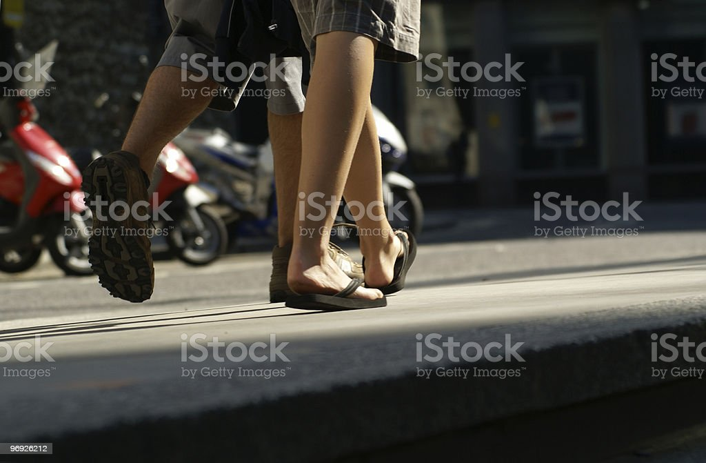 walk royalty-free stock photo
