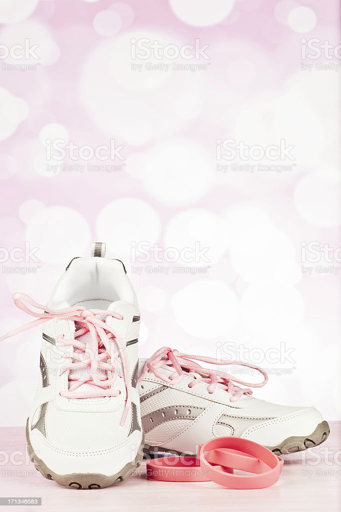 Walk to Raise Money for Breast Cancer Research stock photo