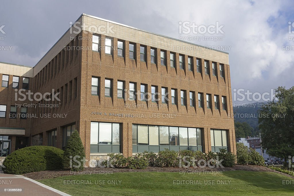 Walker Hall at App State stock photo