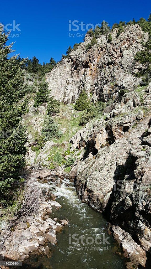 Walker Ranch Park near Boulder Colorado stock photo