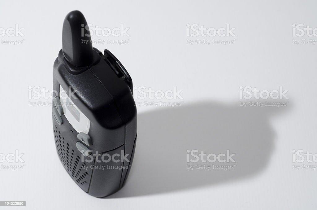 Walkie talkie stock photo