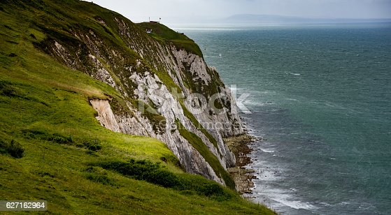 istock Walking along the cliffs on the Isle of Wight 627162964