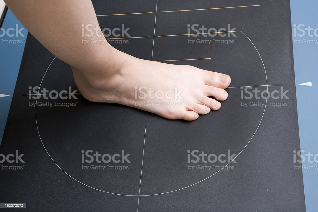 Walking Analysis royalty-free stock photo