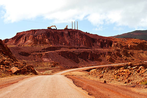 walking around in new caledonia - nickel stock photos and pictures