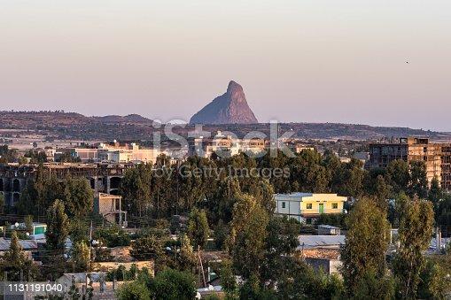 istock Walking around the historical city of Axum - Ethiopia 1131191040