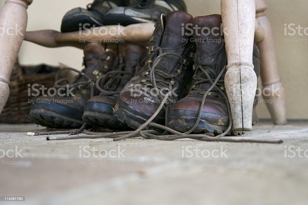 Walking Boots V2... stock photo