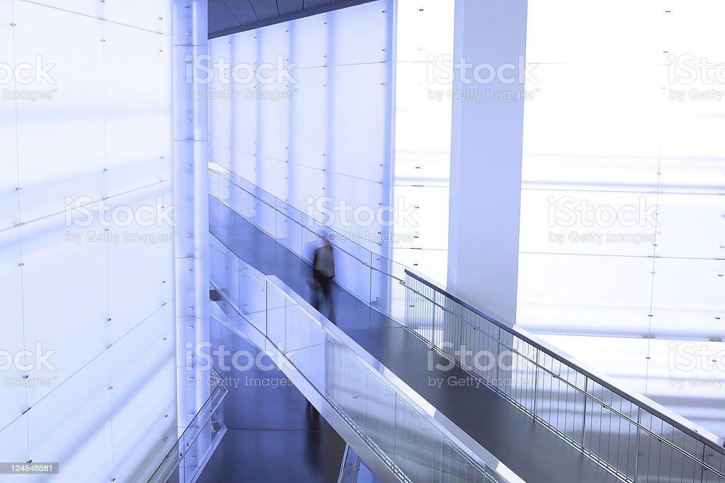 Walking business man stock photo
