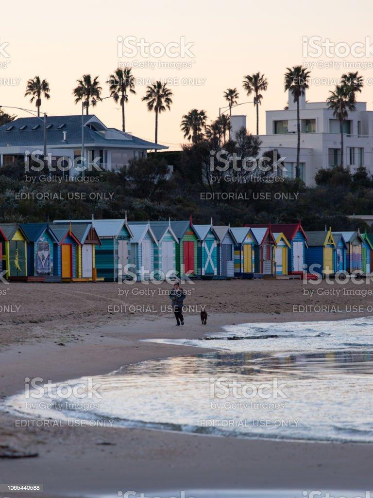 Marche de la plage - Photo
