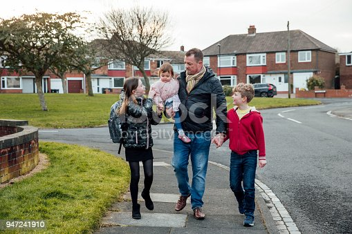 istock Walking Home from School Together 947241910
