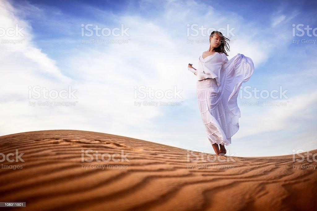 Zu Fuß in Wüste series Lizenzfreies stock-foto