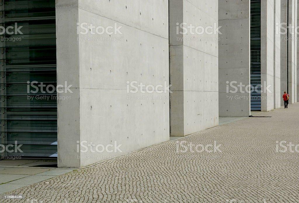walking large stock photo