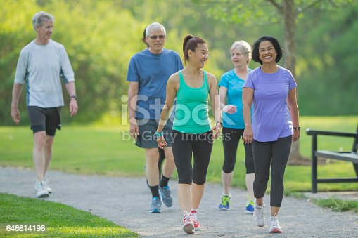 istock Walking on a Trail 646614196