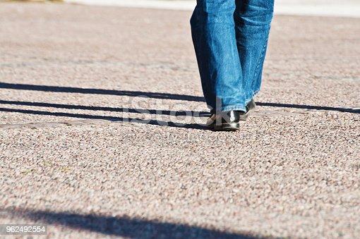istock Walking On A Walkway 962492554