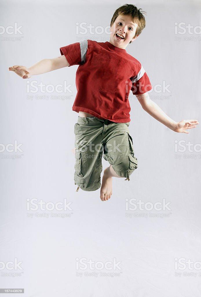 Walking on Air stock photo