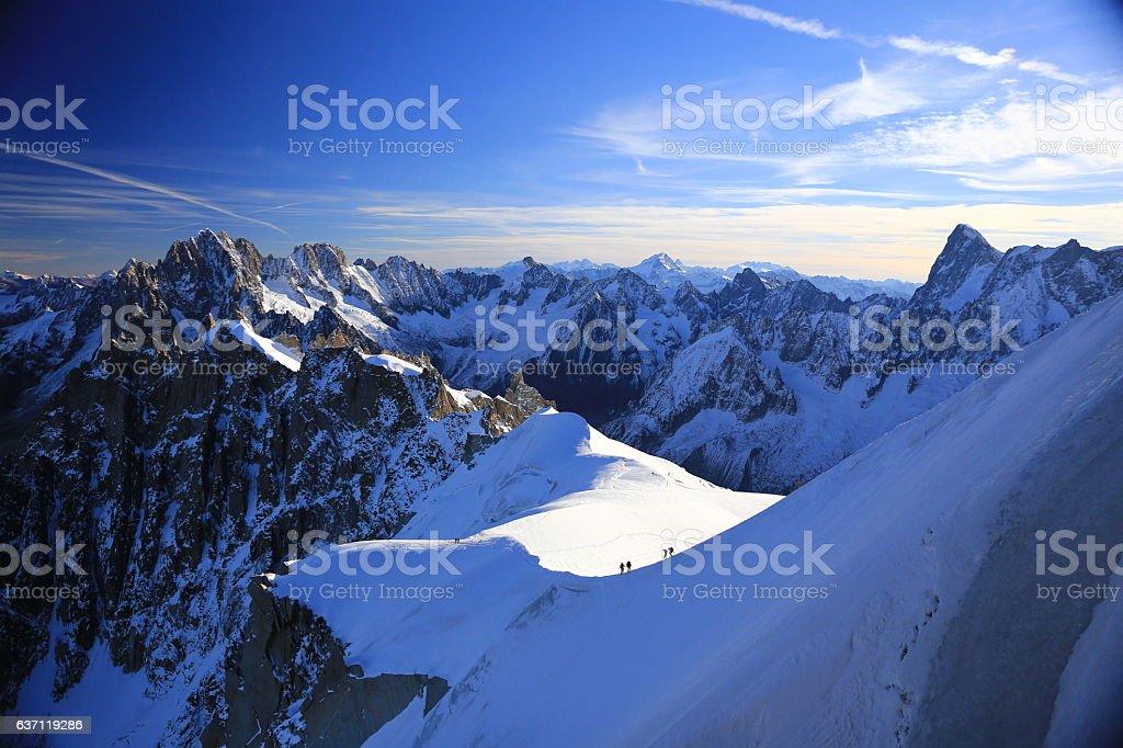 Marcher sur la neige - Photo