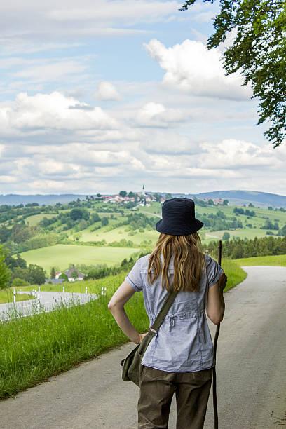 walking - bayerischer wald bildbanksfoton och bilder