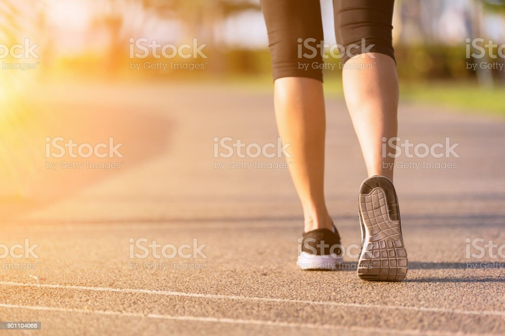 Walking. stock photo