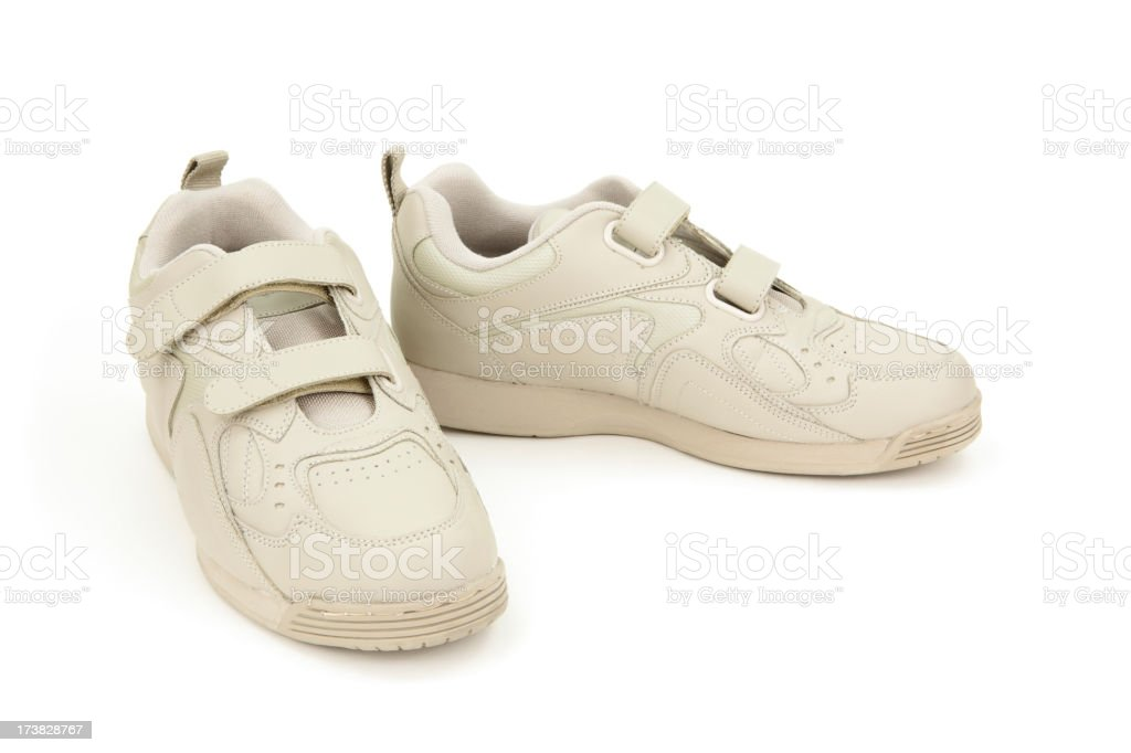 Walking Shoes royalty-free stock photo