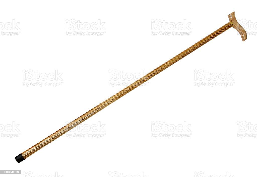Caña de barra de madera a - foto de stock
