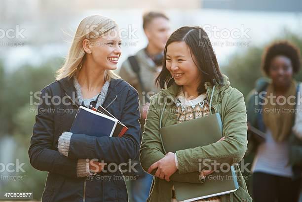 Walking to college picture id470805877?b=1&k=6&m=470805877&s=612x612&h=xtkunynlt3zul wemv zhmqelxnkb7qf7vut y14iys=
