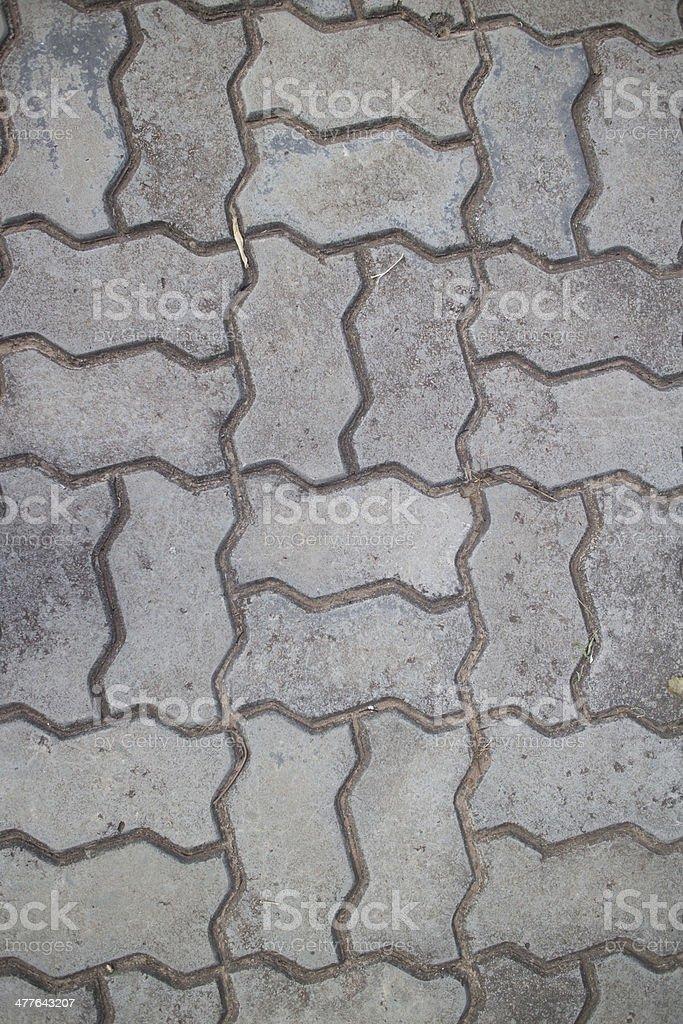 Walkway royalty-free stock photo