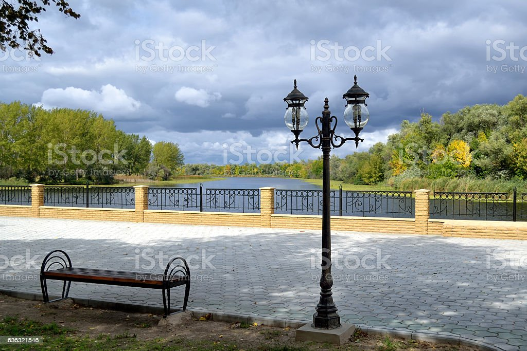 walkway quay - foto de stock