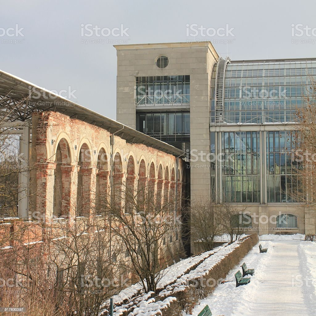 Passage Glas-Gebäude - Lizenzfrei Architektur Stock-Foto