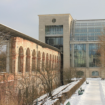 Passage Glasgebäude Stockfoto und mehr Bilder von Architektur