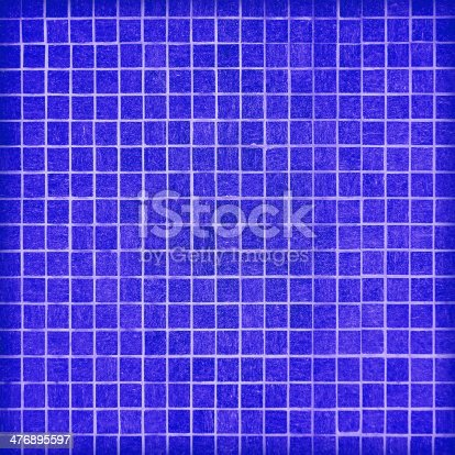489767858 istock photo wall and floor mosaic tiles in azure blue 476895597