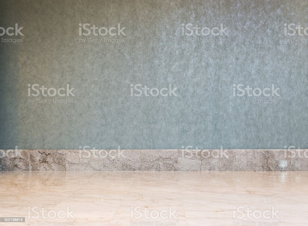 wall and floor royalty-free stock photo