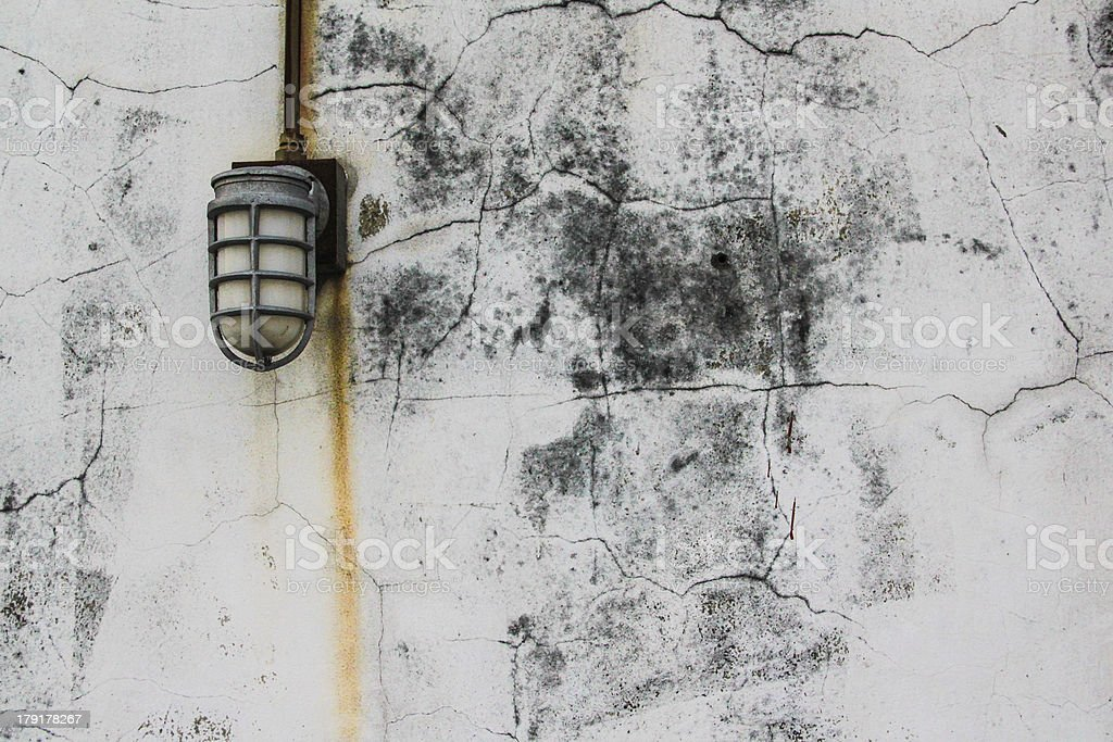 Wall and light royalty-free stock photo