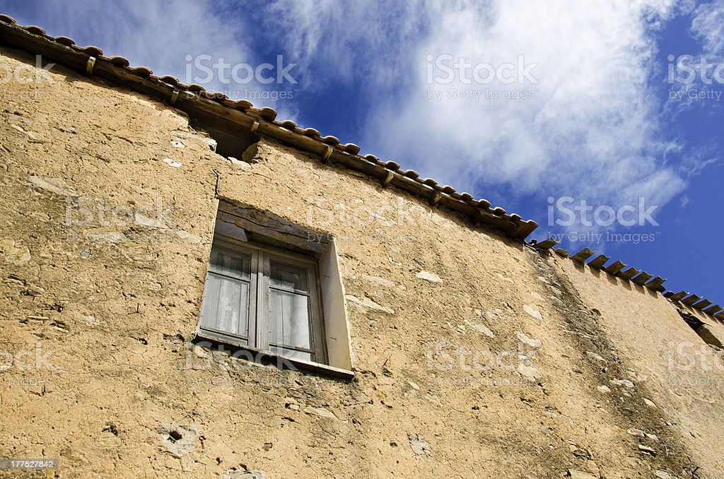 Wall and window royalty-free stock photo