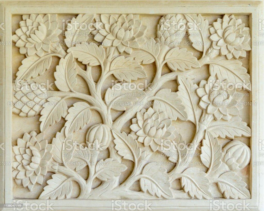 wall art and stone carvings at garuda wisnu kencana cultural park gm