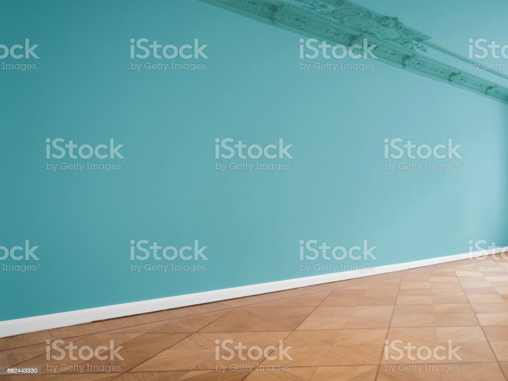 wall background in empty room with copy space royalty-free stock photo