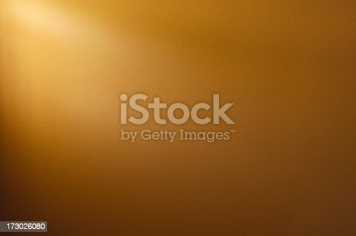 Coffee Brown colored wall background. Light source from window on top left.